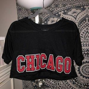 Chicago Bulls NBA Crop Top